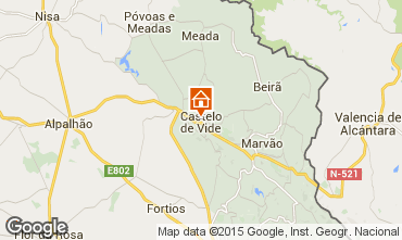 Mapa Castelo de Vide Casa 46710
