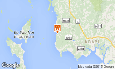 Mapa Krabi Casa rural 32124