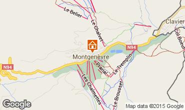 Mapa Montgenevre Casa 17180