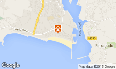 Mapa Praia da Rocha Apartamento 61203