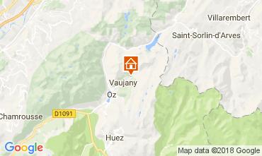 Mapa Alpe d'Huez Chalet 113371