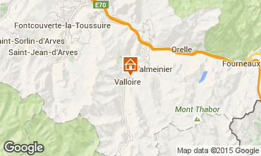 Mapa Valloire Apartamento 97653