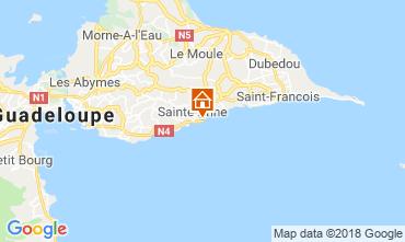 Mapa Sainte Anne (Guadalupe) Apartamento 69395