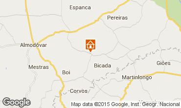 Mapa Mértola Villa 76298