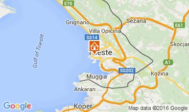 Mapa Trieste Apartamento 105312