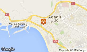 Mapa Agadir Apartamento 61035