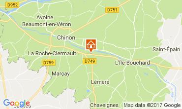 Mapa Chinon Casa 112374