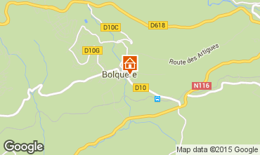 Mapa Bolqu�re Pyren�es 2000 Apartamento 67250