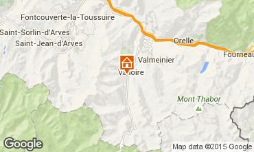 Mapa Valloire Chalet 23134