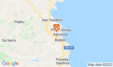 Mapa Budoni Apartamento 109521