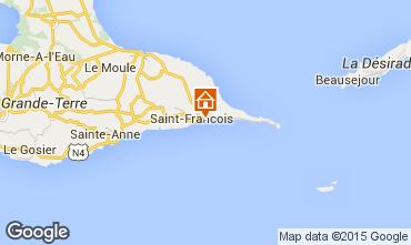 Mapa Saint Francois Bungalow 8957