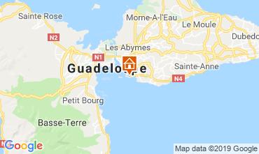 Mapa Gosier (Guadalupe) Apartamento 117735