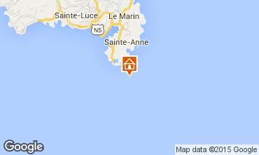 Mapa Sainte Anne (Martinique) Estudio 78983