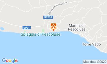 Mapa Pescoluse Casa 105714