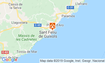 Mapa S'Agaró Apartamento 118840