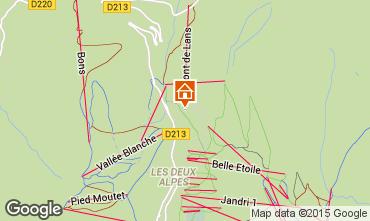 Mapa Les 2 Alpes Apartamento 87190