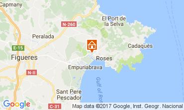 Mapa Rosas Apartamento 112412