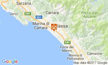 Mapa Marina di Massa Apartamento 72642