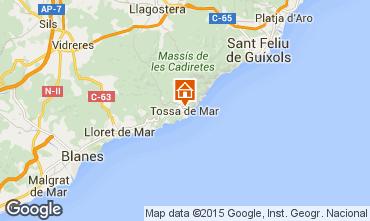 Mapa Tossa de Mar Apartamento 78438