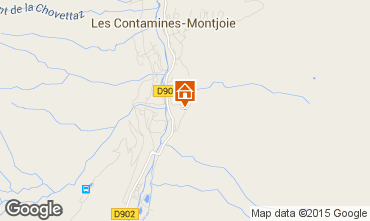 Mapa Les Contamines Montjoie Chalet 941