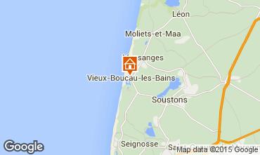 Mapa Vieux Boucau Apartamento 54490