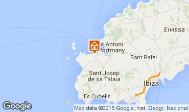 Mapa Ibiza Apartamento 99431