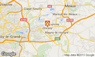 Mapa Marne la Vall�e Estudio 80631