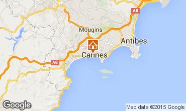 Mapa Cannes Apartamento 52757