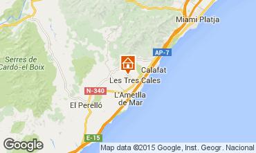 Mapa La Ametlla de Mar Villa 59886
