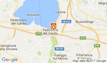 Mapa Peschiera del Garda Apartamento 70850