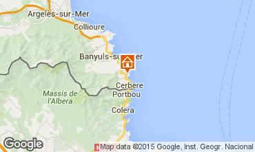 Mapa Banyuls-sur-Mer Apartamento 71534