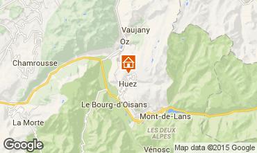 Mapa Alpe d'Huez Apartamento 92