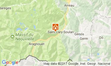 Mapa Saint Lary Soulan Apartamento 112253