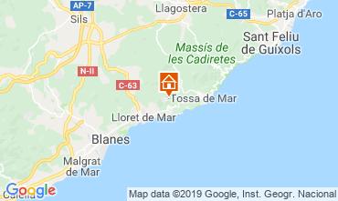 Mapa Lloret de Mar Villa 117948