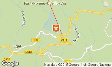 Mapa Font Romeu Apartamento 4136