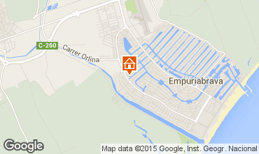 Mapa Ampuriabrava Villa 51978