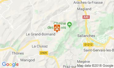 Mapa Le Grand Bornand Chalet 110705