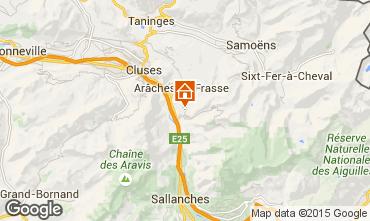 Mapa Les Carroz d'Araches Chalet 90862