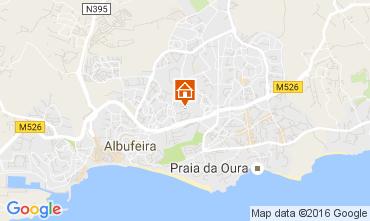Mapa Albufeira Apartamento 106350