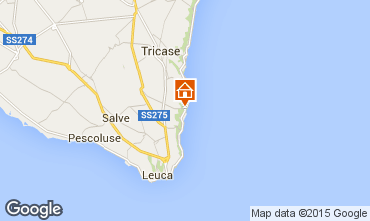 Mapa Santa Maria di Leuca Apartamento 51532
