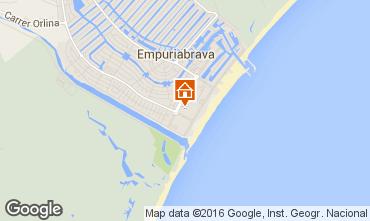 Mapa Ampuriabrava Apartamento 77084