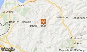 Mapa Bellevaux Hirmentaz La Ch�vrerie Apartamento 552
