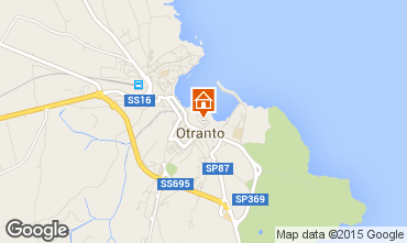 Mapa Otranto Apartamento 77231