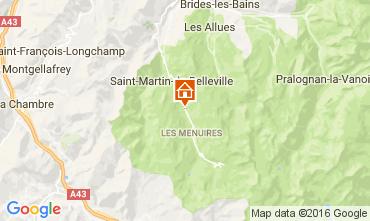 Mapa Les Menuires Chalet 91424
