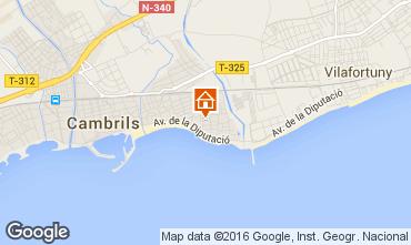 Mapa Cambrils Casa 102787