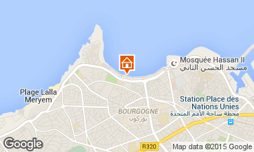 Mapa Casablanca Apartamento 9024