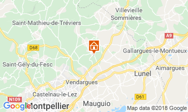 Mapa Montpellier Villa 116911