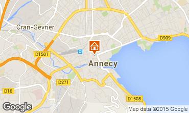 Mapa Annecy Apartamento 30857
