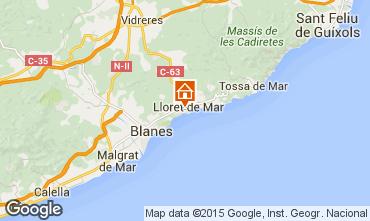 Mapa Lloret de Mar Apartamento 44801