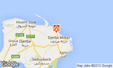 Mapa Djerba Villa 9883